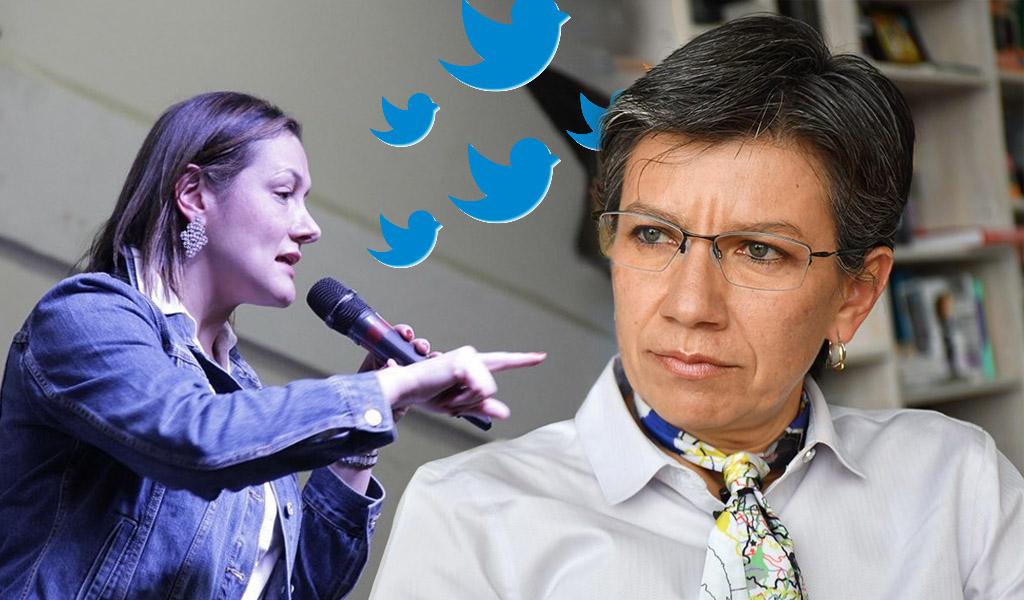 La discusión entre candidatas a la Alcaldía de Bogotá
