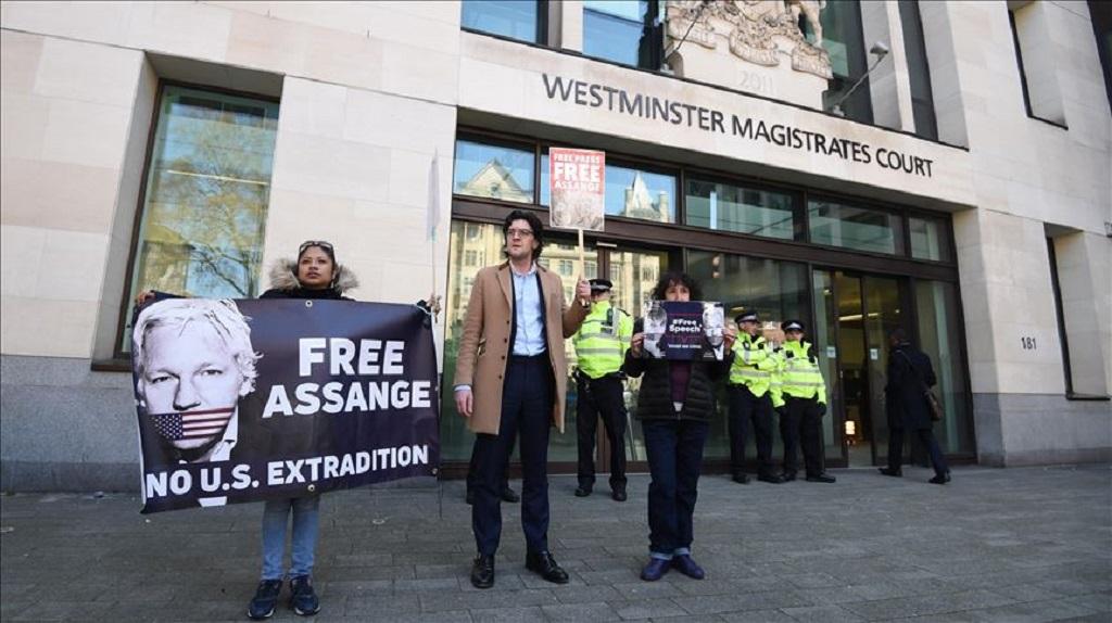 Extradición de Julian Assange se revisará en 2020