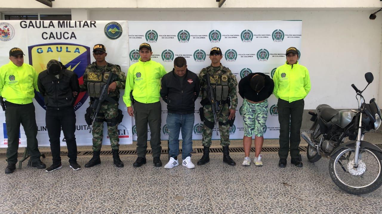 Cae la banda `Los Lulos` dedicada al robo a mano armada en Popayán