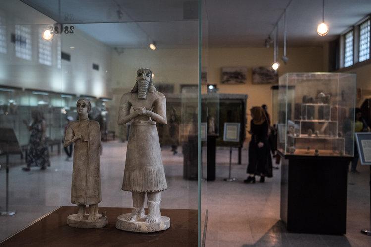 Recuperan historia saqueada del Museo de Irak