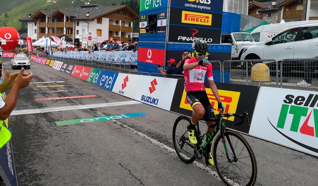 Ardila repite victoria en el Giro de Italia sub-23