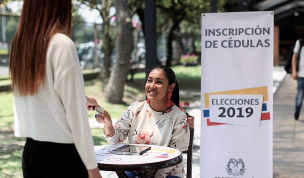 inscripción cédula, elecciones 2019, elecciones octubre, plazo para inscribir, Colombia
