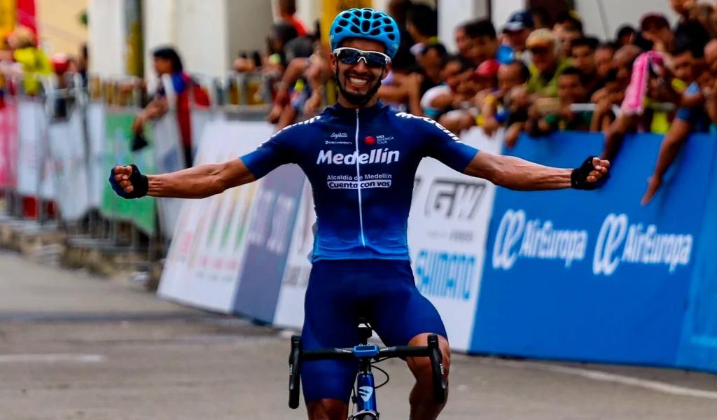 Montoya gana la etapa 3 de la Vuelta a Colombia