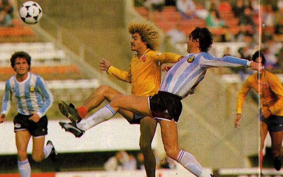 Hace tres décadas Colombia no le gana a Argentina