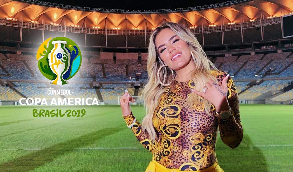 Karol G y las sorpresas en inauguración de la Copa América