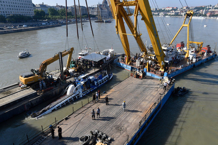 Tráfico en el Danubio se disparó a niveles peligrosos
