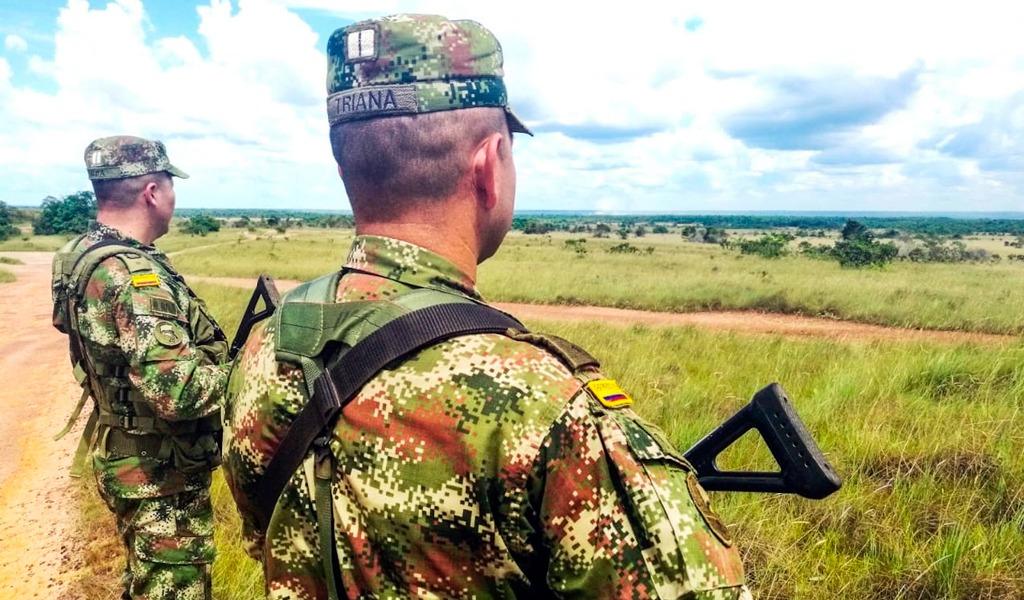 Ejército neutralizó acciones criminales en Antioquia
