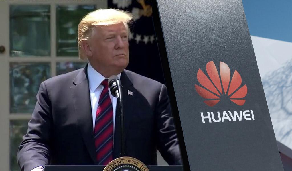 Trump suma prohibiciones a Huawei y ZTE