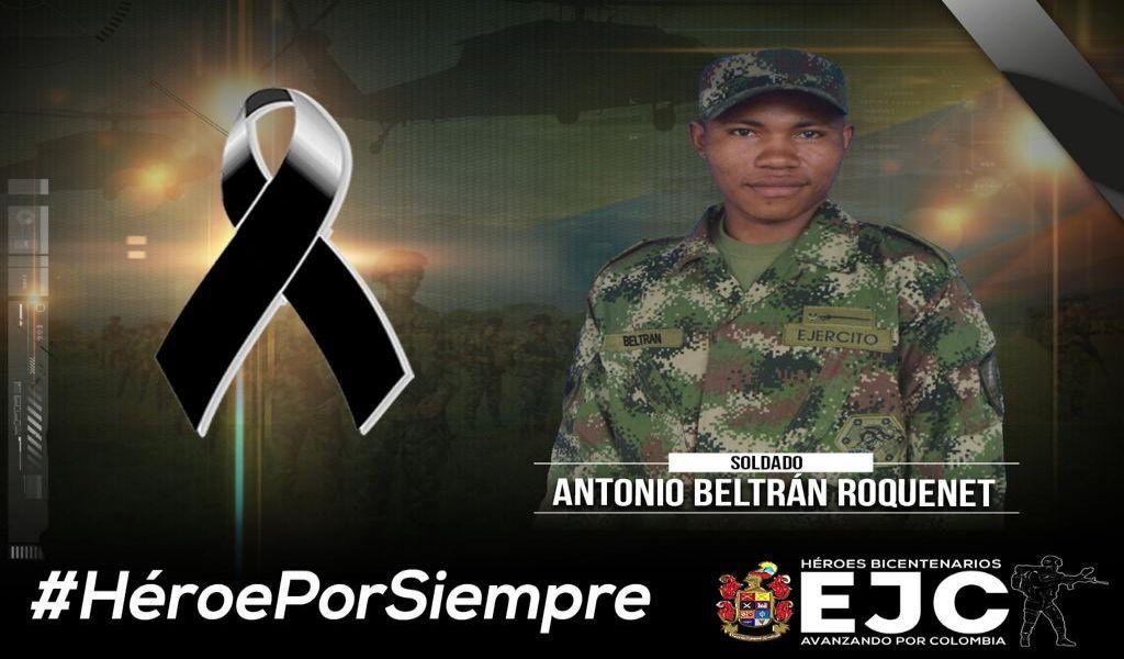 Falleció un tercer soldado por atentado en Tame, Arauca