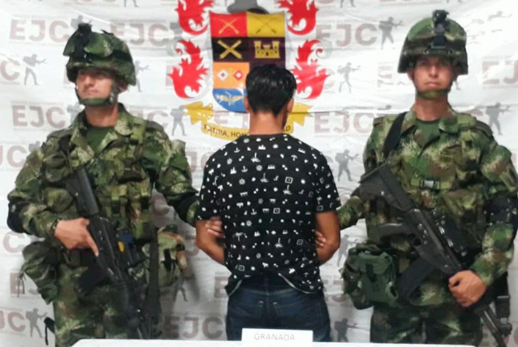 Capturan explosivista de las disidencias de las Farc