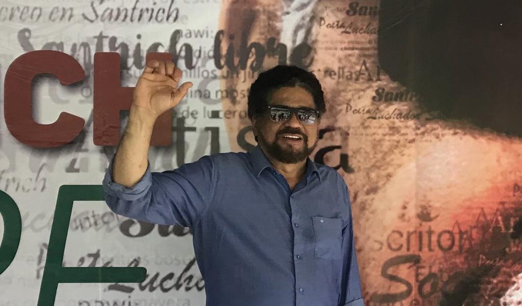 Iván Márquez pide movilizaciones para defender la paz