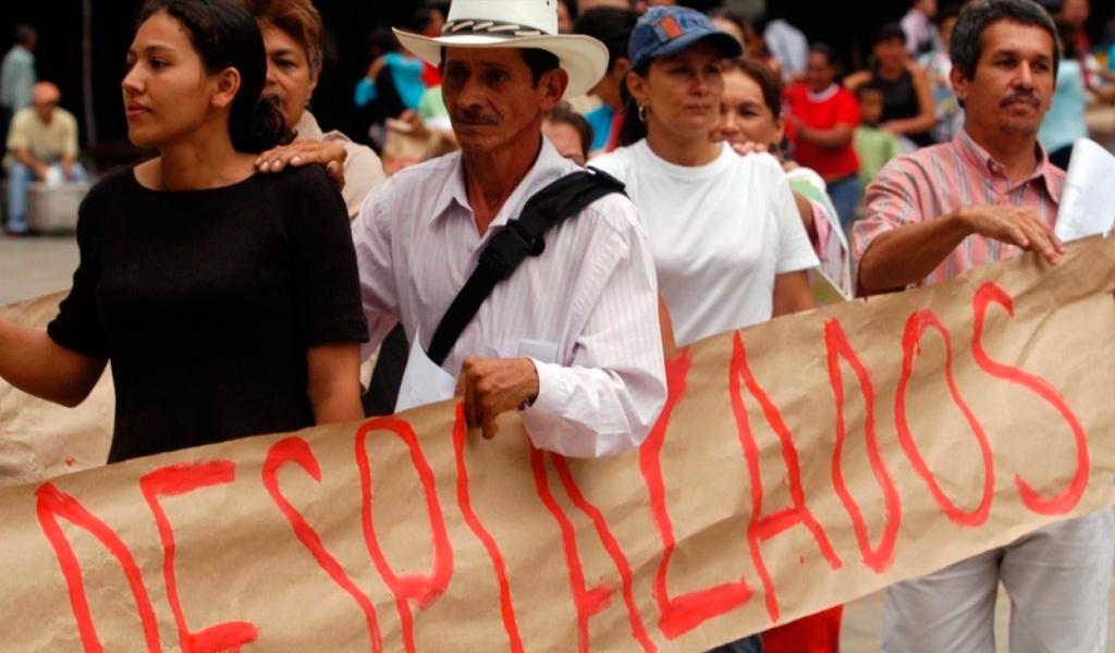 Cifras de ocho años de la Ley de Víctimas en Colombia