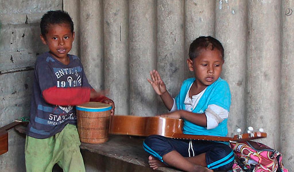 Musicoterapia empodera a comunidades indígenas