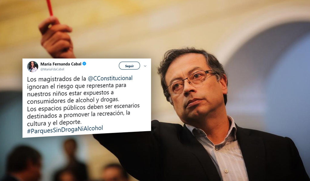 Azúcar, senador, falo Corte, Drogas, Colombia Humana, Gustavo Petro