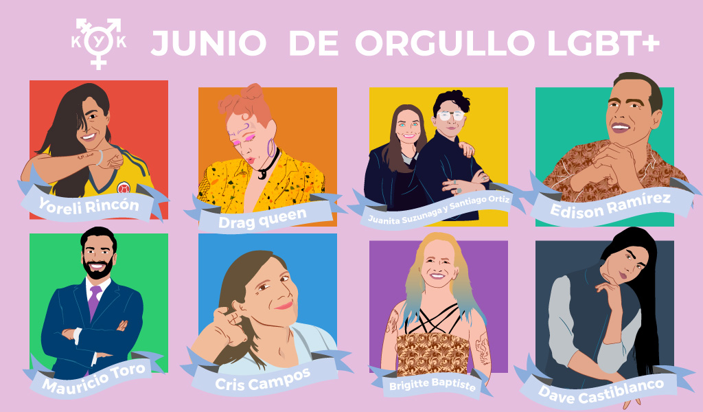 Especial: Las voces del orgullo LGBT+ en Colombia