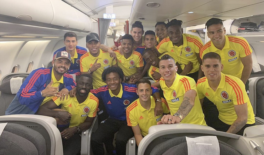 Así le fue 1×1 a los jugadores de Colombia vs Paraguay