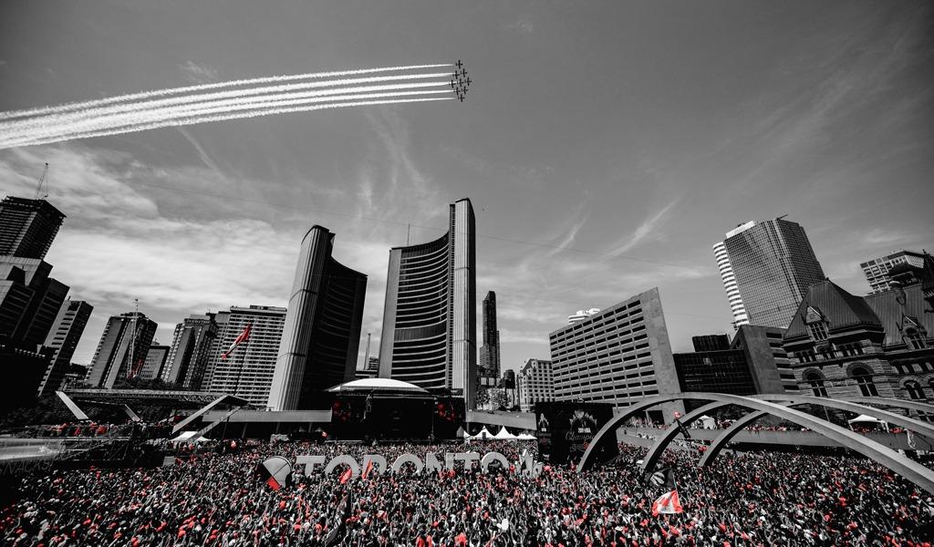 Tiroteo en la celebración de los Toronto Raptors