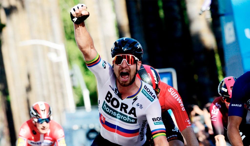 Peter Sagan se queda con la etapa 3 del Tour de Suiza