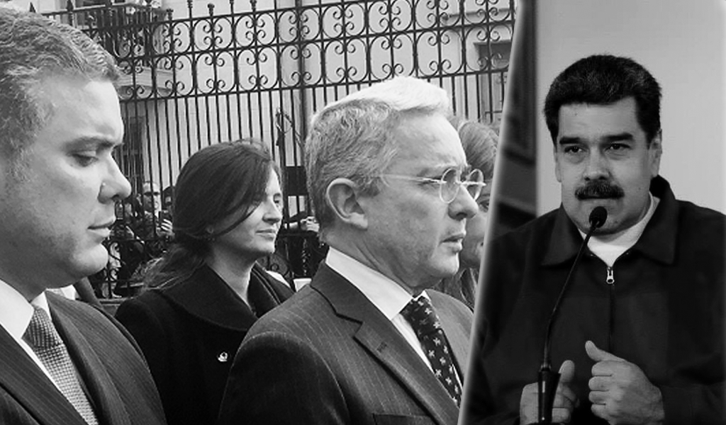 Maduro acusa a Duque y a Uribe de conspirar para asesinarlo