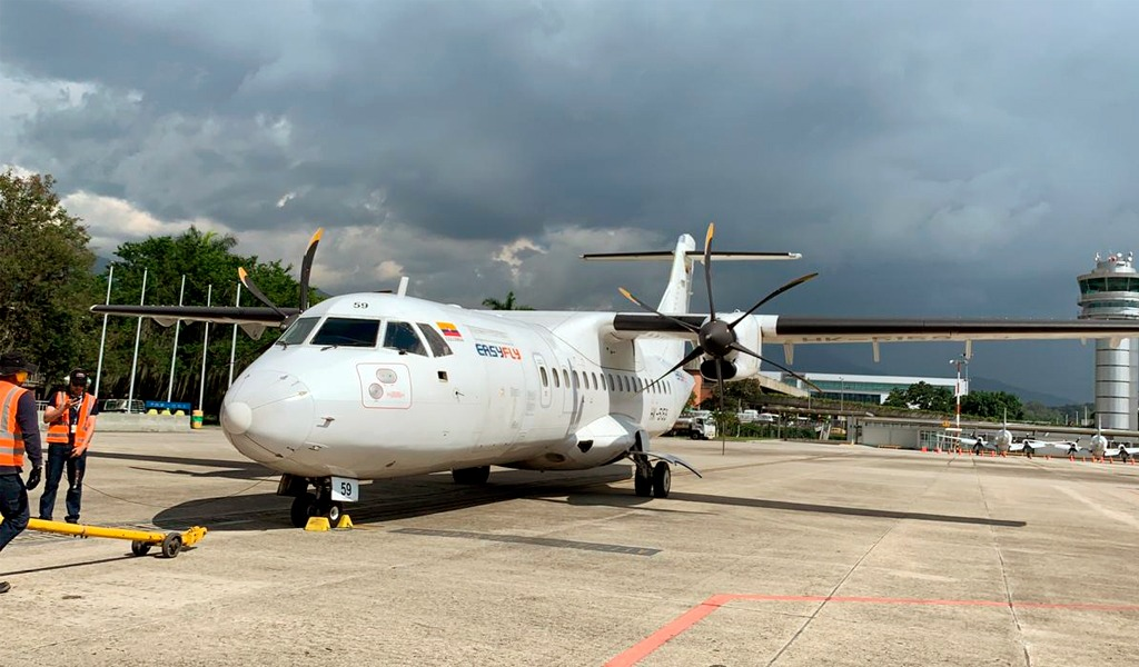 Abren vuelos Medellín-Villavicencio por cierre en vía al Llano