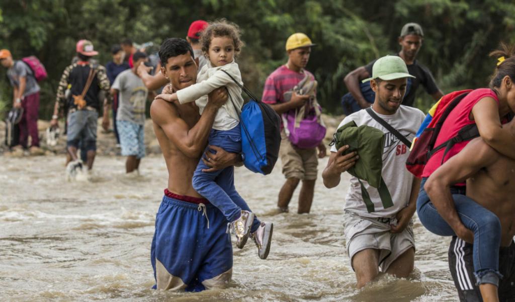 El desplazamiento forzado mundial llega a los 70 millones