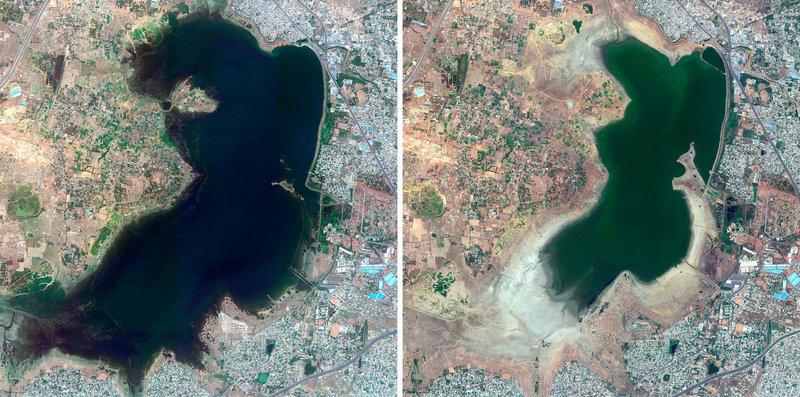 Chennai lleva años batallando con el agua