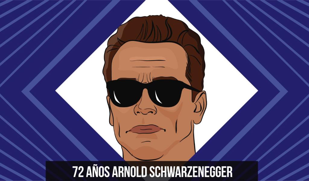72 años Arnold Schwarzenegger