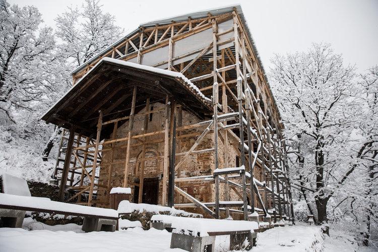 Macedonia del Norte forja su identidad en una iglesia