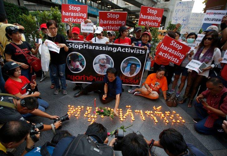 Transición política en Tailandia no tolera el activismo
