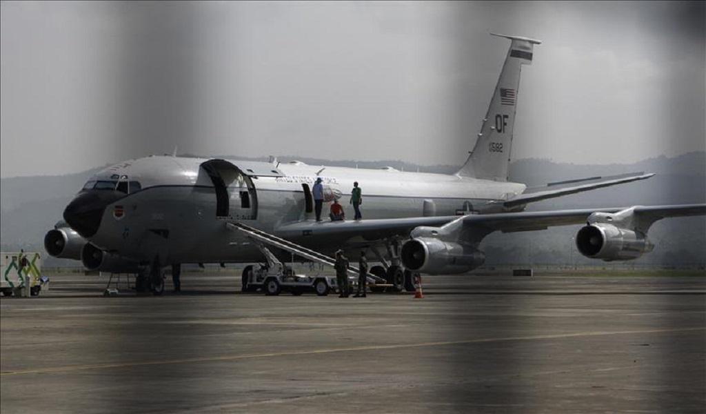 Venezuela descubre un avión de inteligencia de EEUU en su espacio aéreo