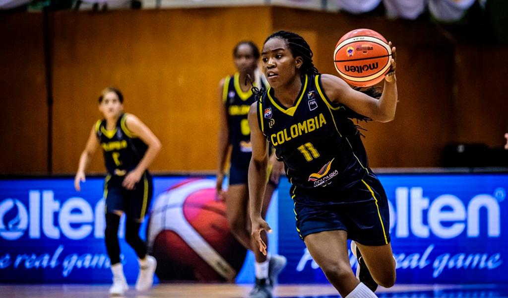 Selección Colombia de Baloncesto Femenino Sub19