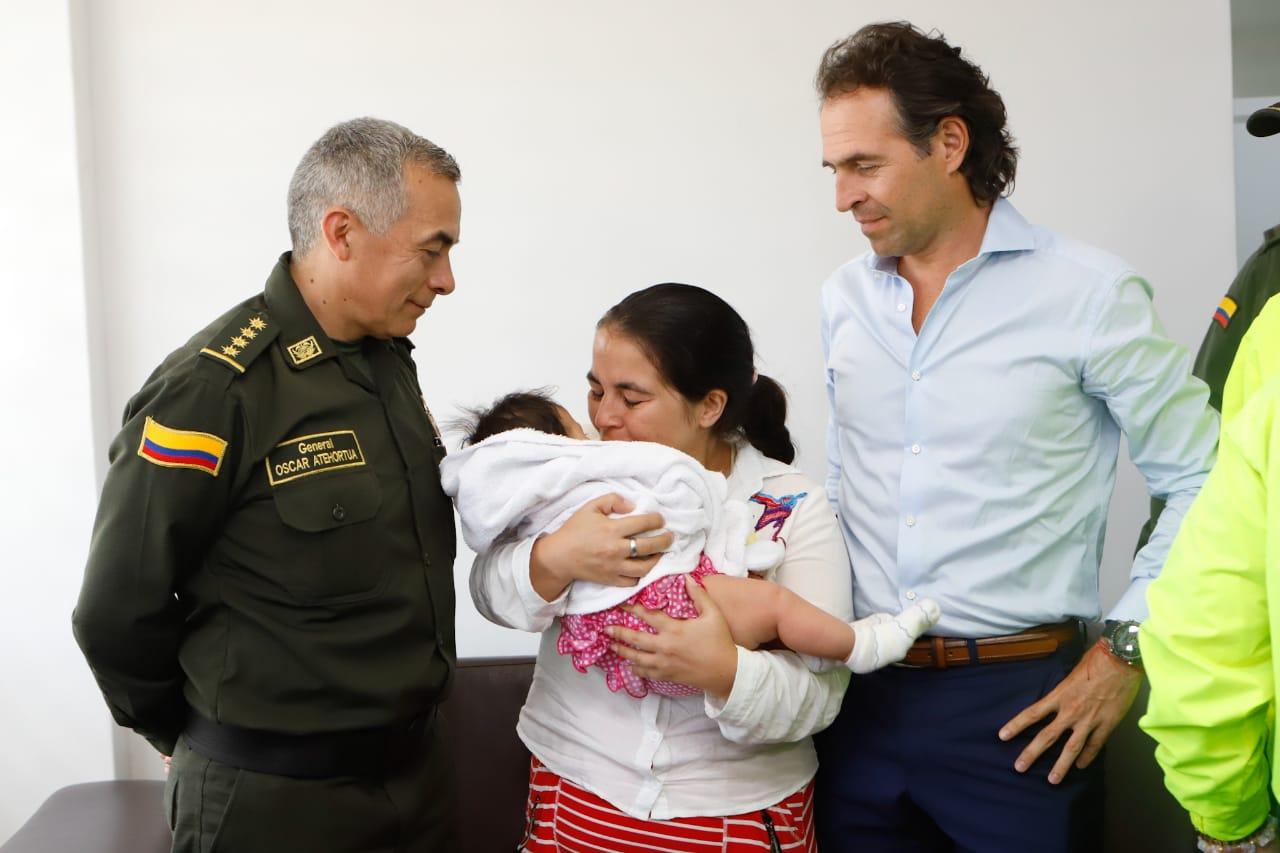 Bebé raptada fue recuperada gracias a cámaras de seguridad
