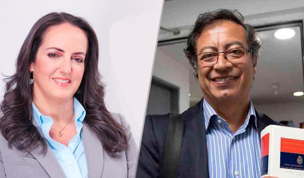 "María Fernanda Cabal llama ""pajudo"" a Gustavo Petro"