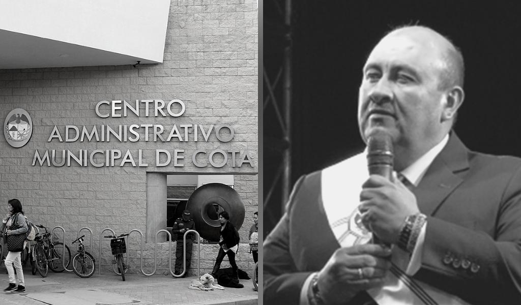 Alcalde de Cota se defiende ante denuncia por fraude procesal