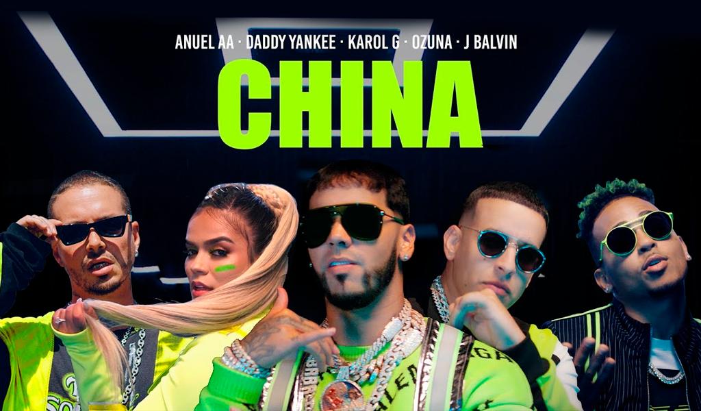 Las cifras de 'China', el último sencillo de Anuel