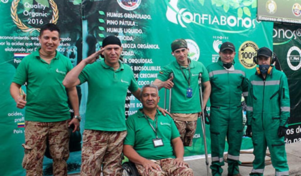 Confiabonos, un emprendimiento de soldados heridos en combate