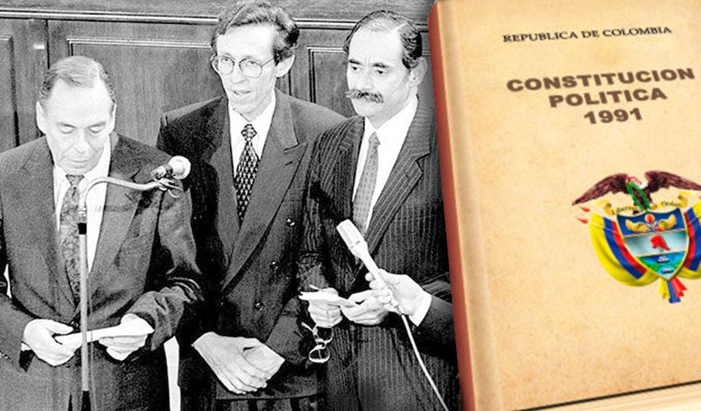 Se cumplen 28 años de la Constitución de 1991