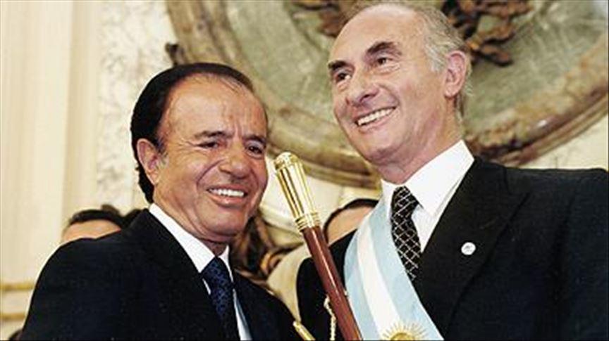 "Falleció Fernando de la Rúa, el del ""corralito"""