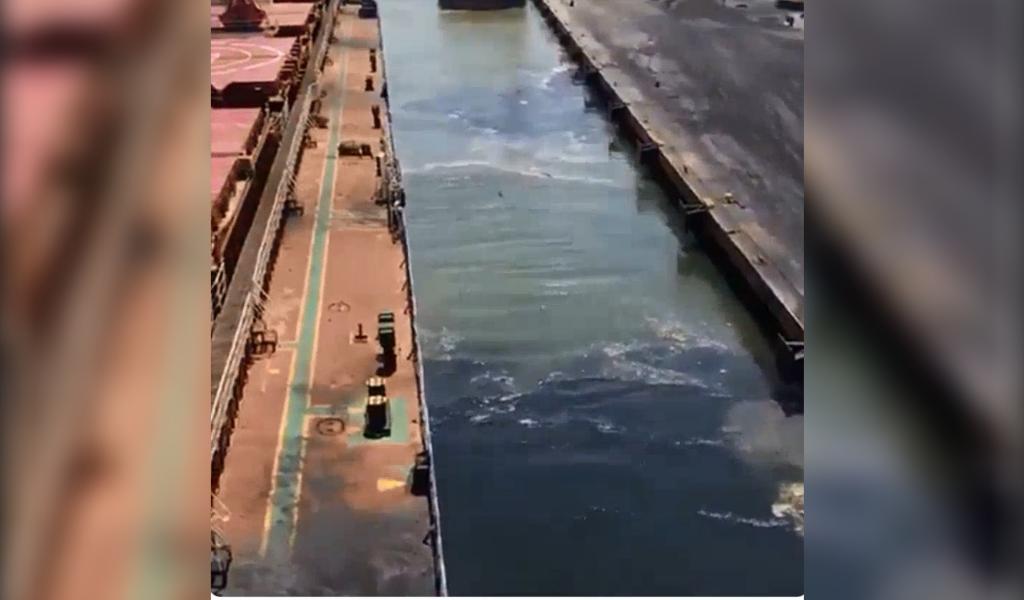 Cartagena preocupada por contaminación marítima