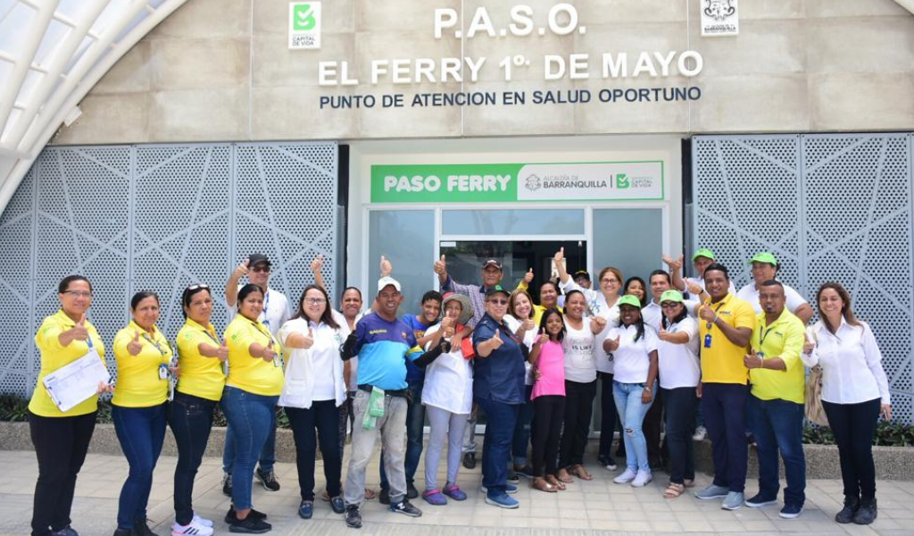 Centro de salud en Barranquilla beneficiará a 12 mil personas