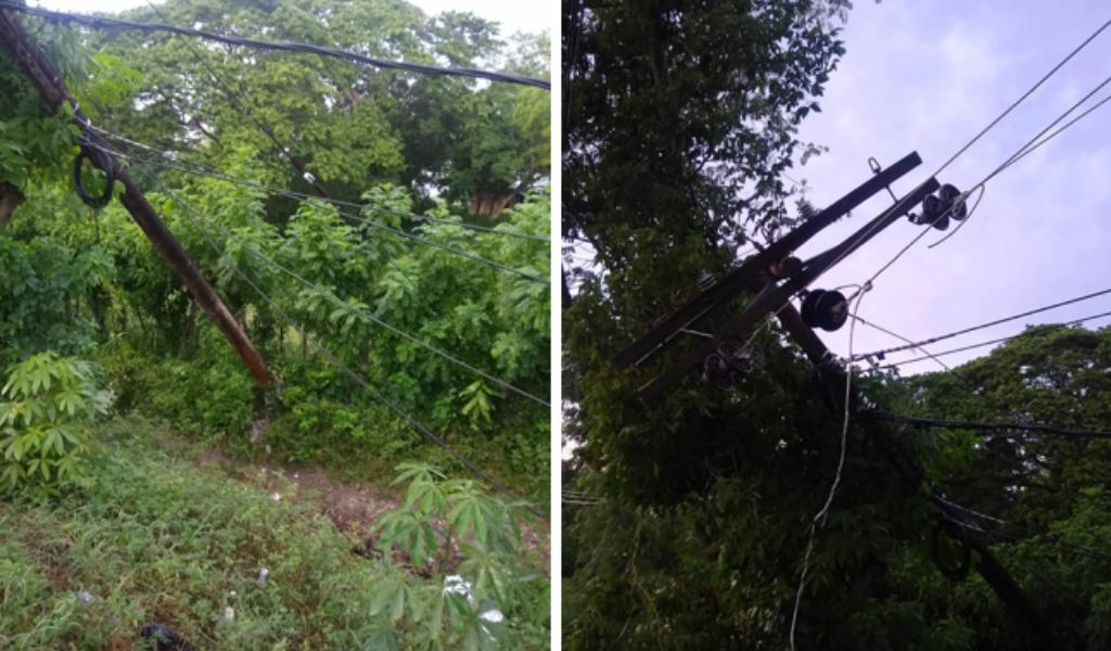 Once municipios de Sucre sin energía por fuertes vientos