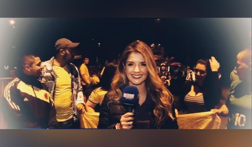 Respuesta de aficionado chileno a colombiana divide opiniones
