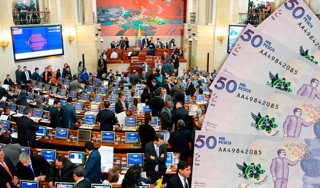 El aumento salarial a congresistas indignó a Colombia