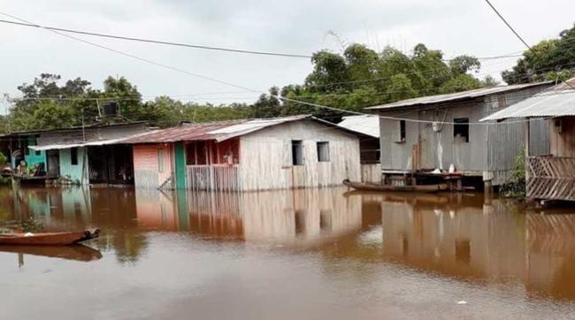 Alerta Roja y calamidad pública por lluvias en el Guaviare