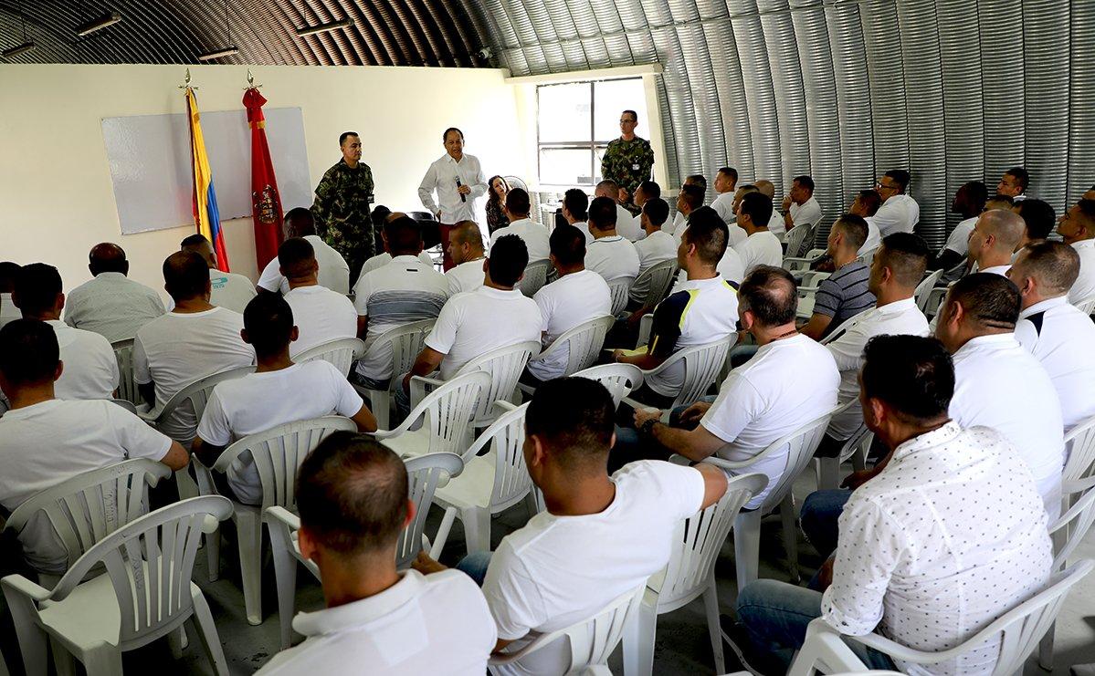 JEP capacitó a militares detenidos en Bello, Antioquia