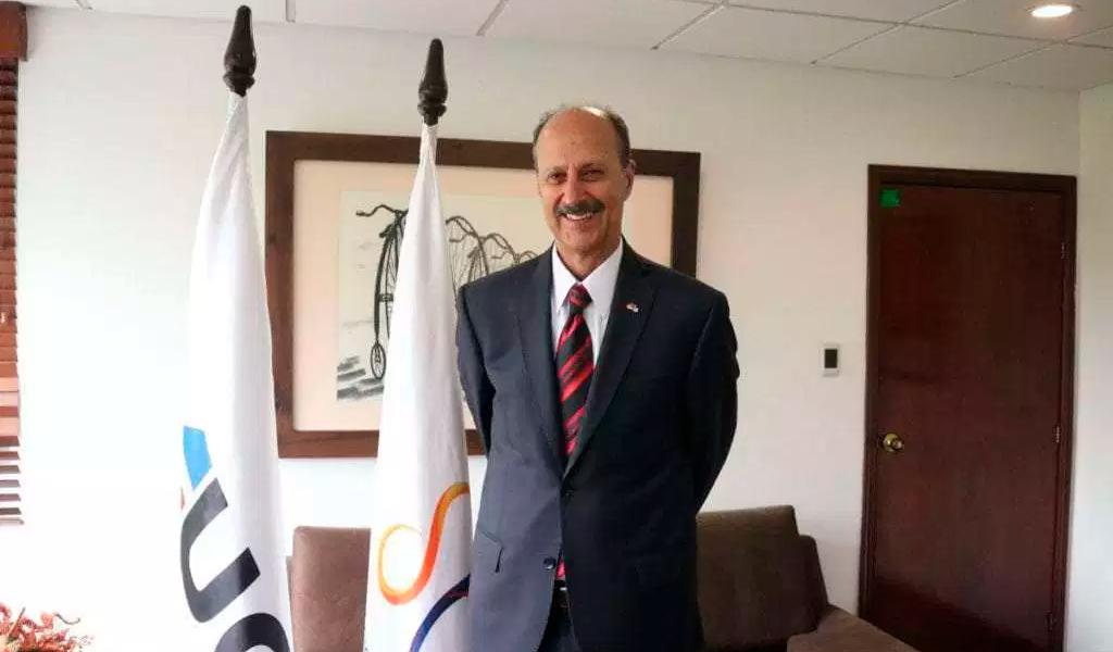 Jorge Ovidio González, Federación Colombiana de Ciclismo
