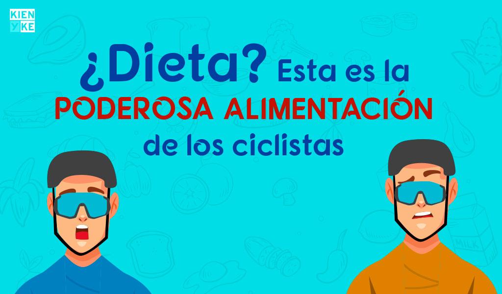 La poderosa alimentación de los ciclistas