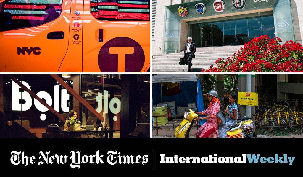 En 4 contenidos del NYT: Esto pasa en el mundo con Uber