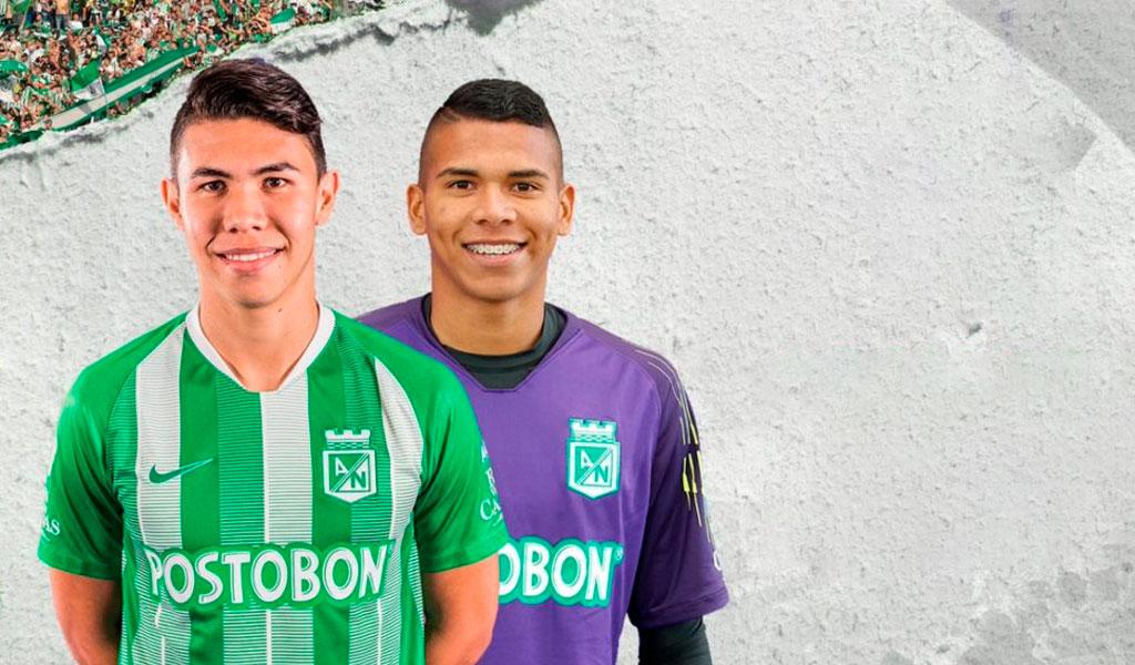 Nicolás Hernández, Kevin Mier, Atlético Nacional, Independiente Santa Fe