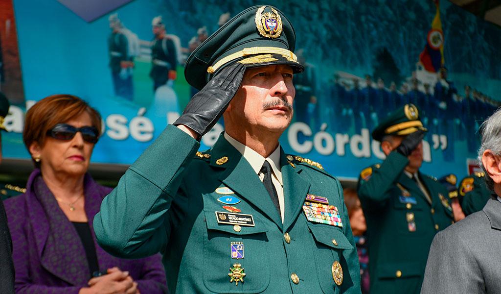 General Nicacio Martínez habló del bombardeo